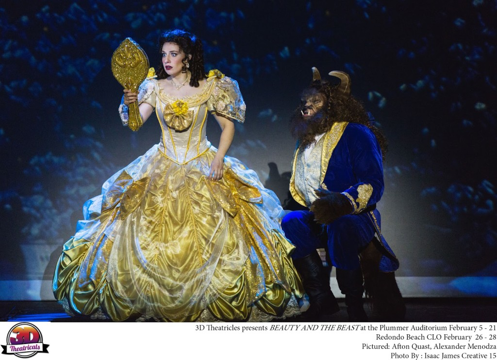 3D Theatricals Beauty And The Beast