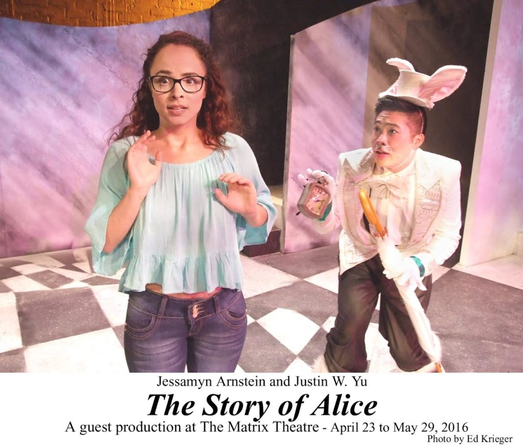 Similar situation. Alice in wonderland adult musical comedy