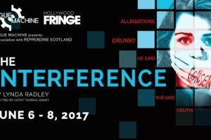 CATHY THOMAS-GRANT  DISCUSSES 'THE INTERFERENCE'