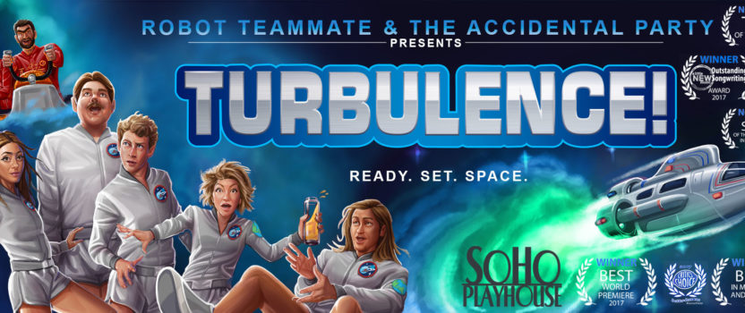 'TURBULENCE!' GETS JUICED-UP FOR NYC