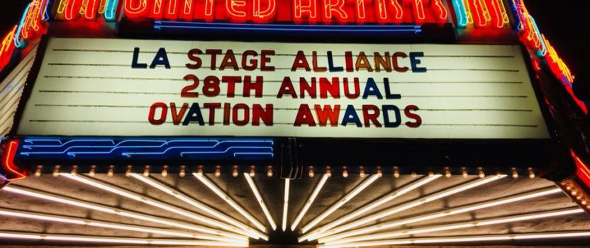 OVATION AWARD WINNERS 2017